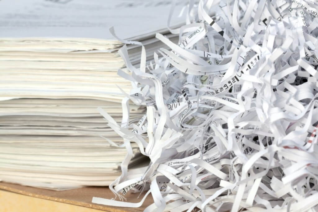 document shredding policy